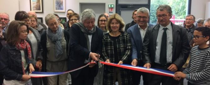 Inauguration de la nouvelle médiathèque de Nouvoitou
