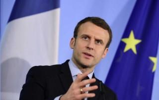 Emmanuel Macron Président