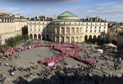 Marche Rose Ligue contre le cancer du sein