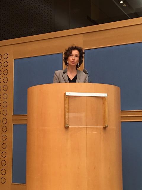 Droits culturels ouverture colloque Mme Azoulay