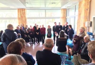 Inauguration de la Résidence DocMael à Saint-Domineuc