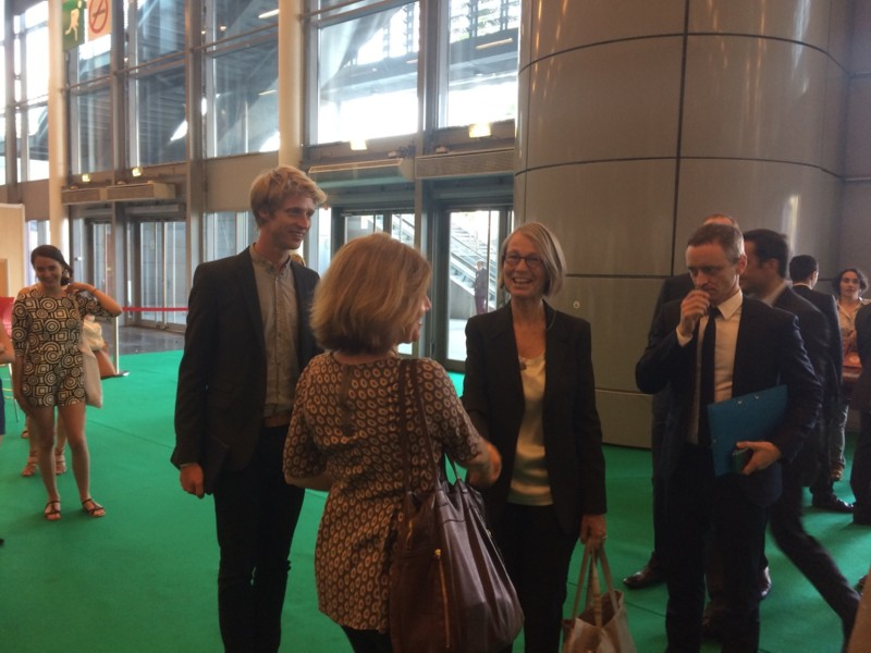 Congrès ABF avec Francoise Nyssen Ministre Culture