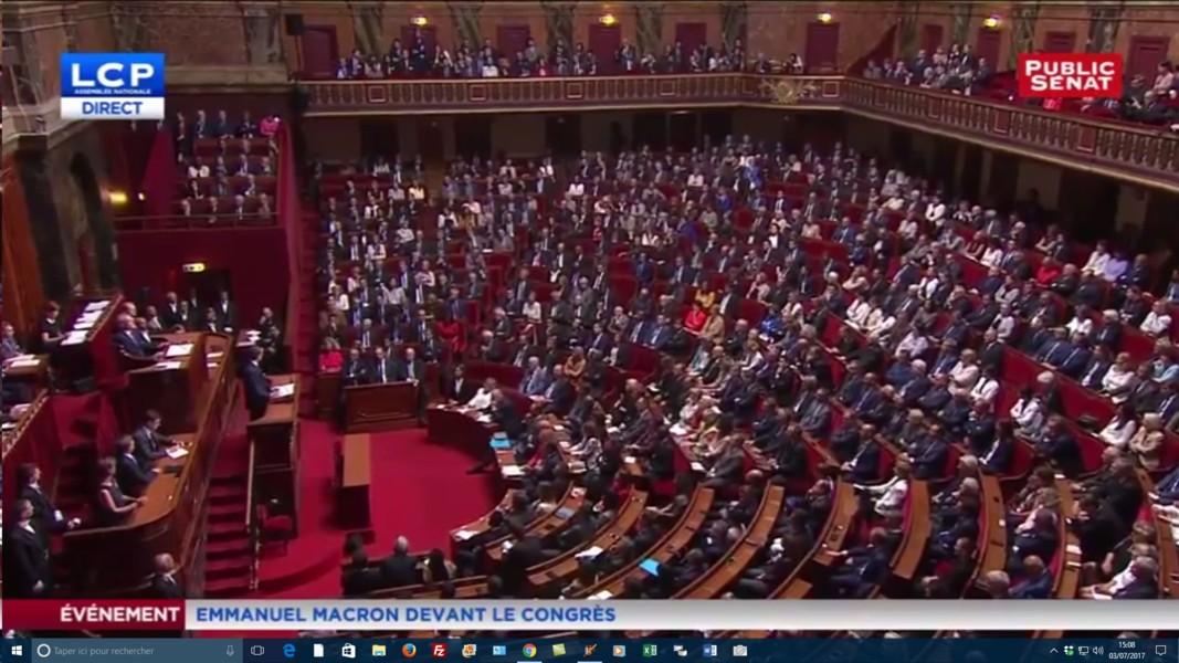 Congrès de Versailles M Macron
