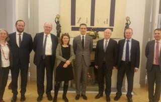 Déplacement de la commission des affaires européennes aux Pays-Bas