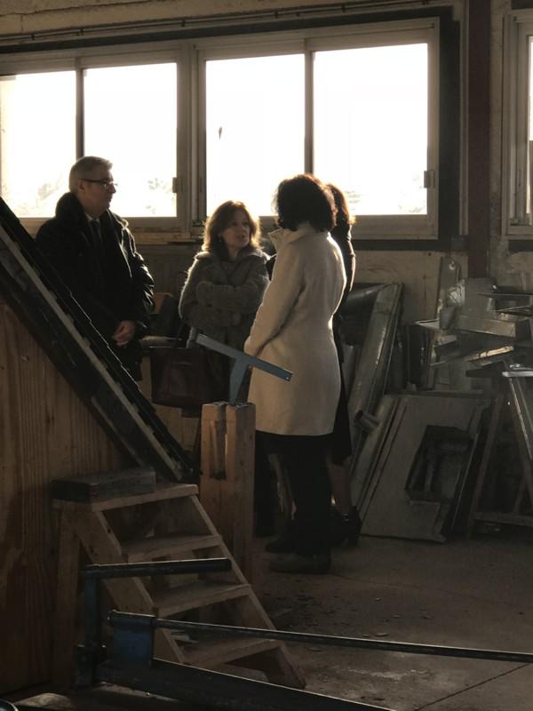 Visite de l'AFPA de Saint-Malo