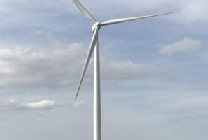 Montreuil des Landes éolienne