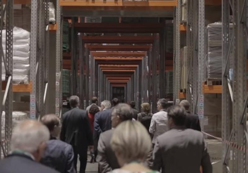 Inauguration de Le Roy Logistique à Bourgbarré