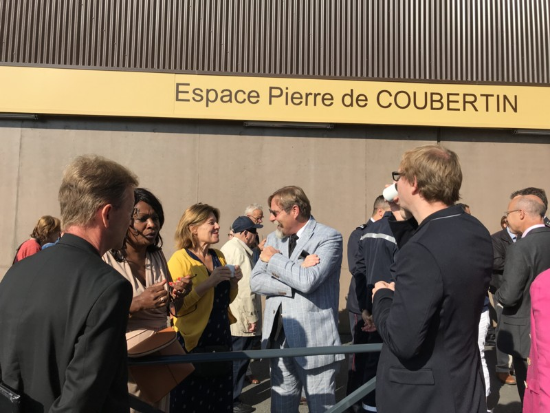 Retiers Inauguration du complexe sportif Pierre Coubertin