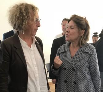 Visite Muriel Penicaud, Ministre du Travail à Pipriac