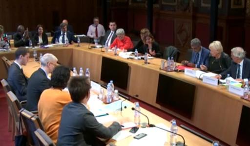 Audiovisuel Outre mer - audition du Ministre