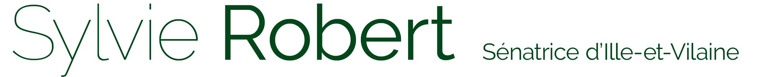 Sylvie Robert Sénatrice Logo